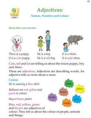 1st Grade Grammar Adjectives 1