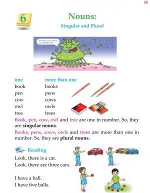 1st Grade Grammar Nouns Singular and Plural 5