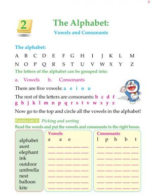 1st Grade Grammar The Alphabet Capital and Small Letters 5