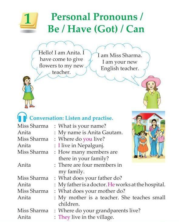 3rd Grade Grammar Personal Pronouns