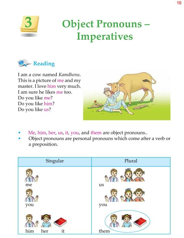 4th Grade Grammar Unit 3 Object Pronouns and Imperatives 1