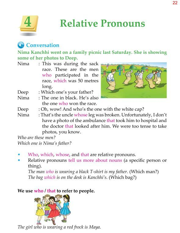 4th Grade Grammar Relative Pronouns