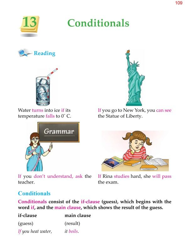 5th Grade Grammar Conditionals 1
