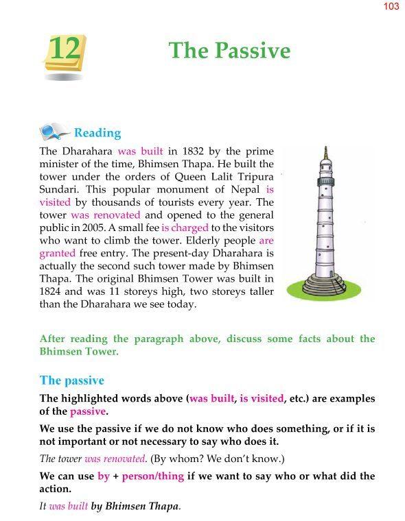 5th Grade Grammar The Passive 1