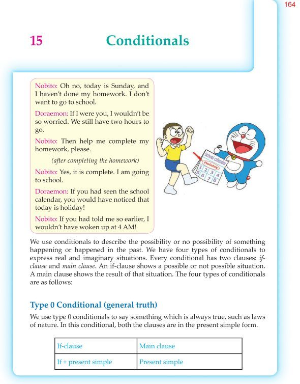 6th Grade Grammar Conditionals