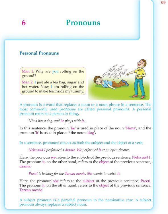 6th Grade Grammar Pronouns 1