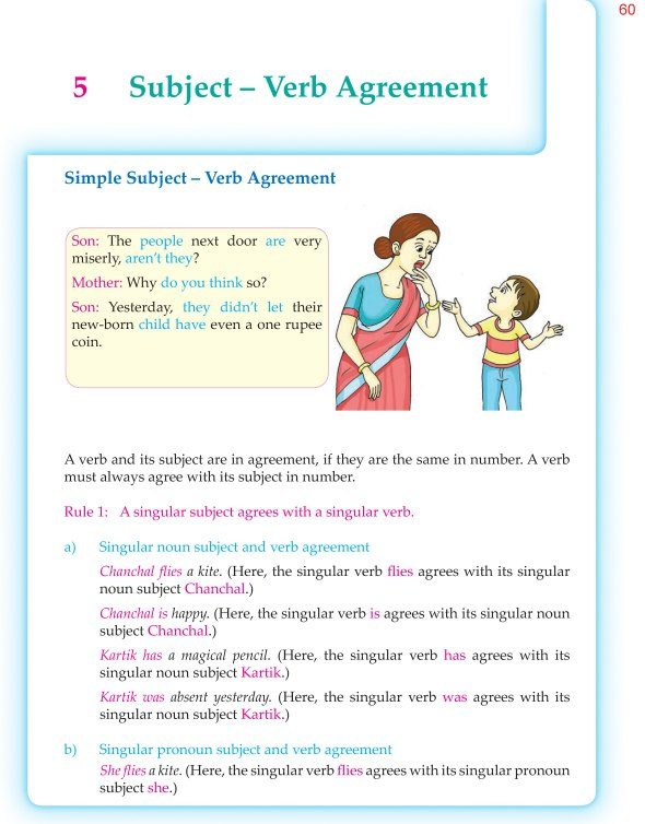 6th Grade Grammar Subject Verb Agreement