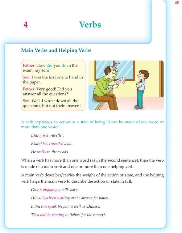 6th Grade Grammar Verbs 1