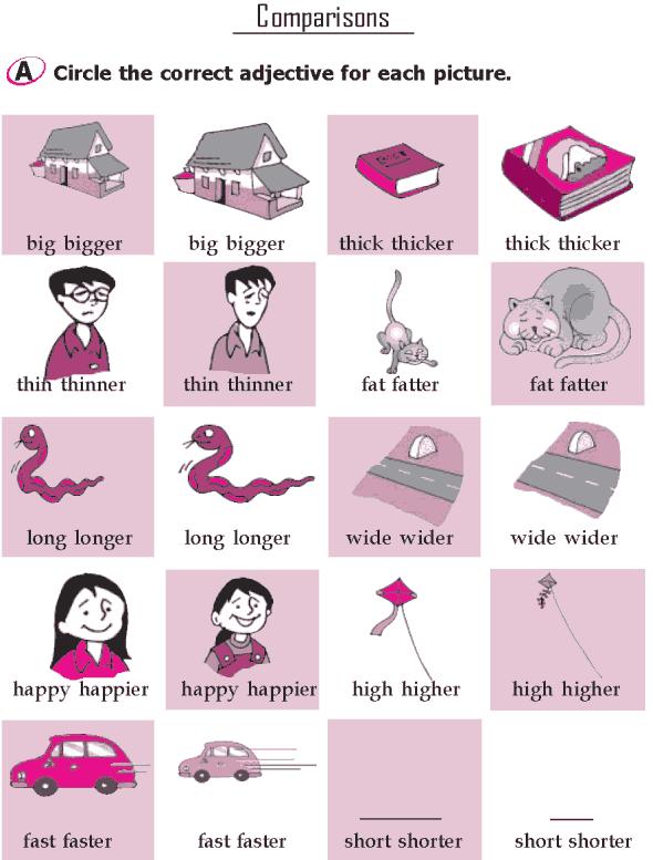Grade 1 Grammar Lesson 12 Adjectives (1)