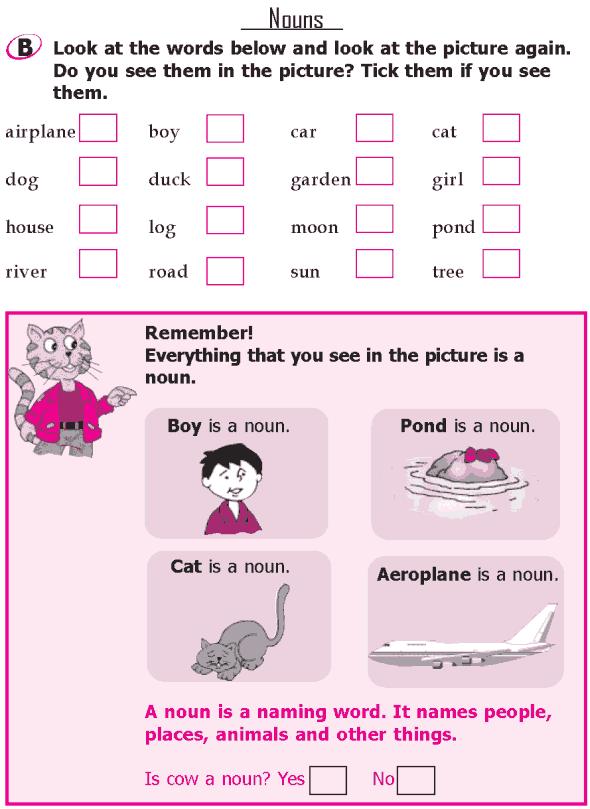 Grade 1 Grammar Lesson 4 Nouns (1)