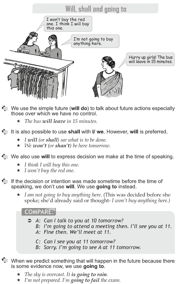 Grade 10 Grammar Lesson 10 Will, shall and going to