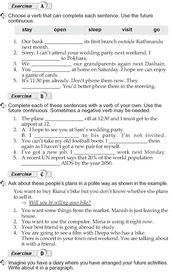 Grade 10 Grammar Lesson 11 Future continuous  (2)