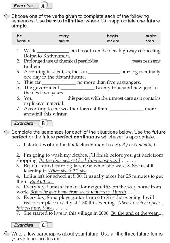 Grade 10 Grammar Lesson 13 Other future forms (2)