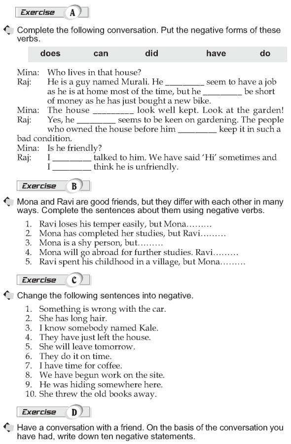 Grade 10 Grammar Lesson 17 Negation (2)