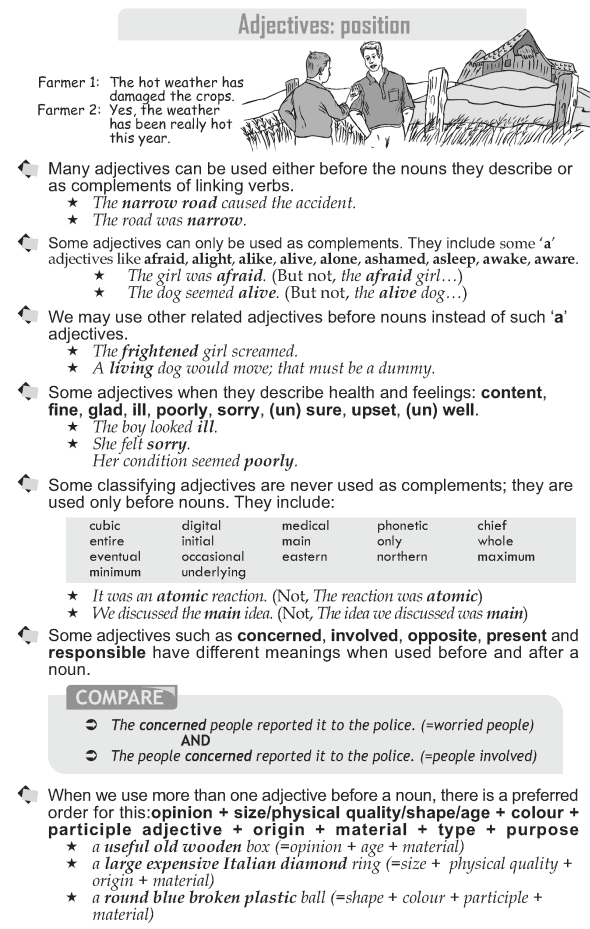 Grade 10 Grammar Lesson 20 Parallel structures