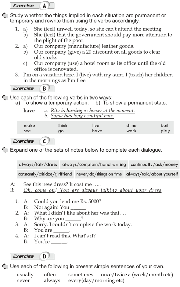 Grade 10 Grammar Lesson 2 Present simple and present continuous (3)