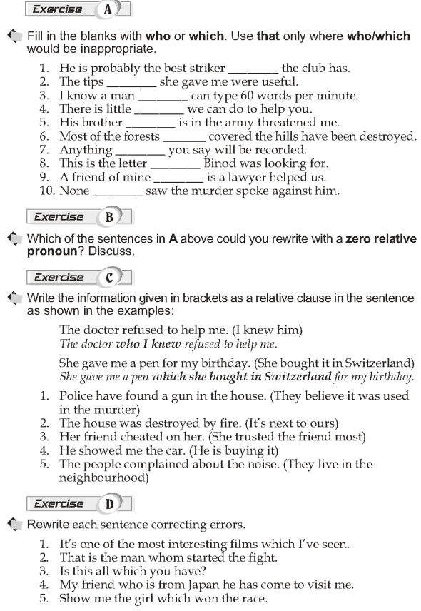 Grade 10 Grammar Lesson 30 Relative clauses Defining (2)