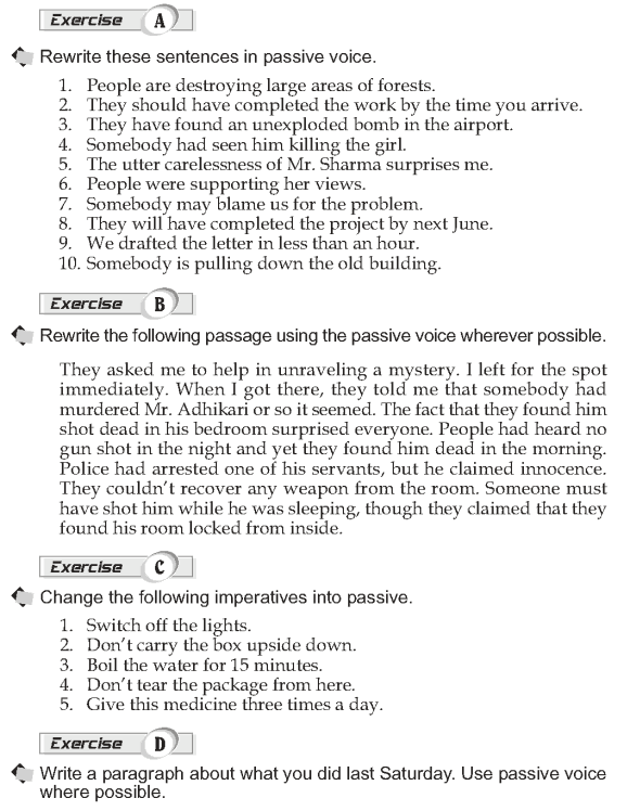 Grade 10 Grammar Lesson 34 Using passives (2)