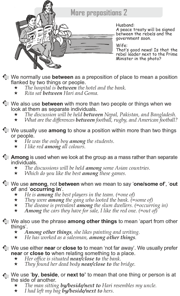 Grade 10 Grammar Lesson 41 More prepositions (2)