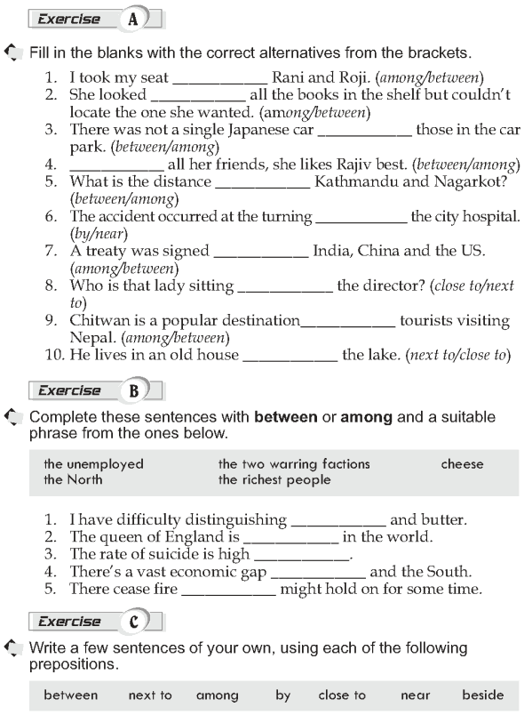Grade 10 Grammar Lesson 41 More prepositions (3)