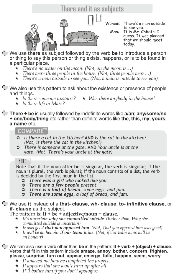 Grade 10 Grammar Lesson 49 There and it as subjects (1)