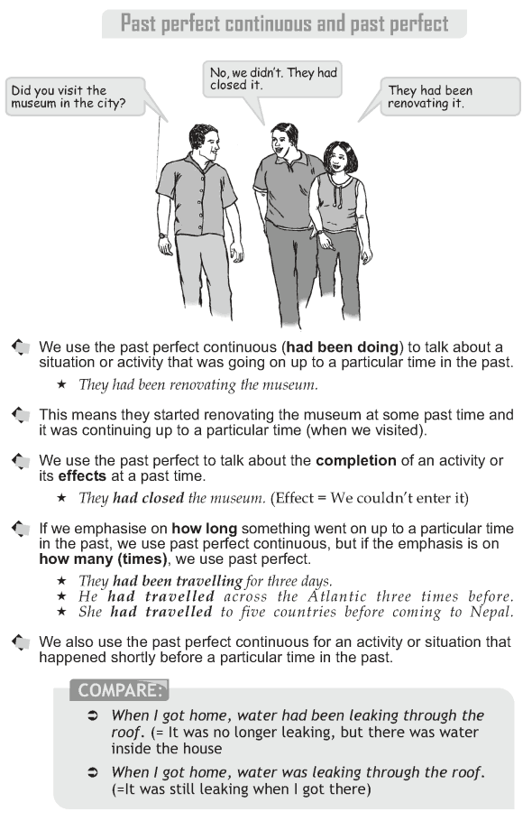 Grade 10 Grammar Lesson 9 Past perfect continuous and past perfect