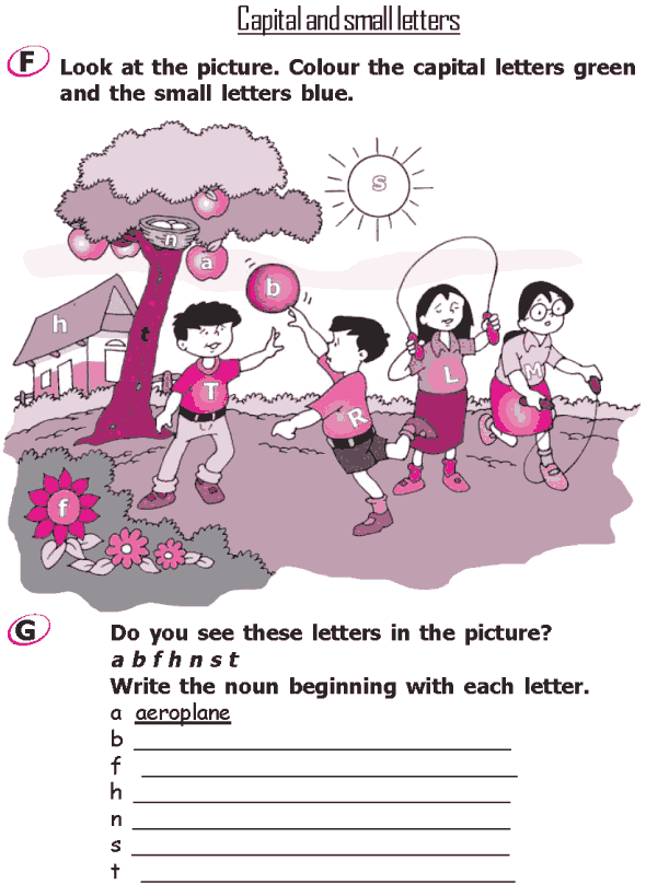 Grade 2 Grammar Lesson 1 The alphabet - Capital and small letters (3)