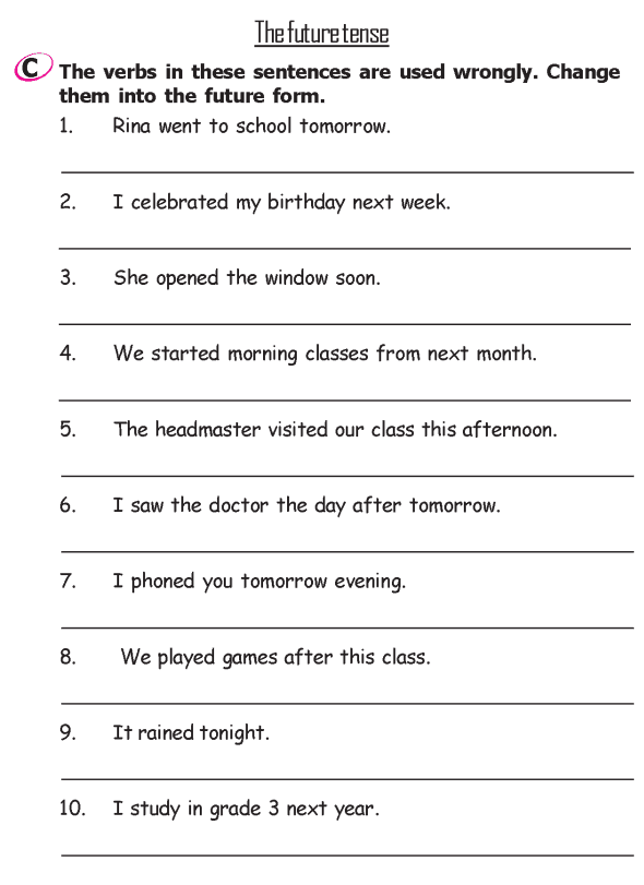 Grade 2 Grammar Lesson 13 Verbs - The past tense (3)