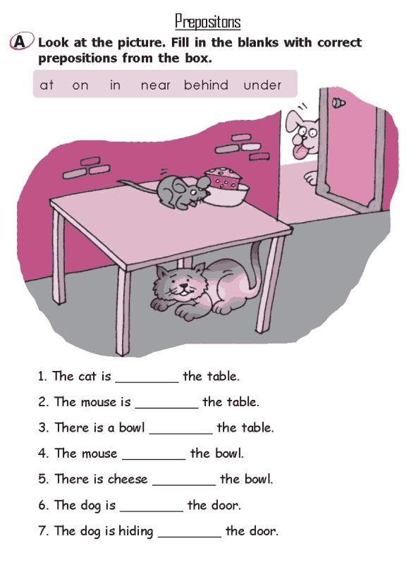 Grade 2 Grammar Lesson 16 Prepositions (2)