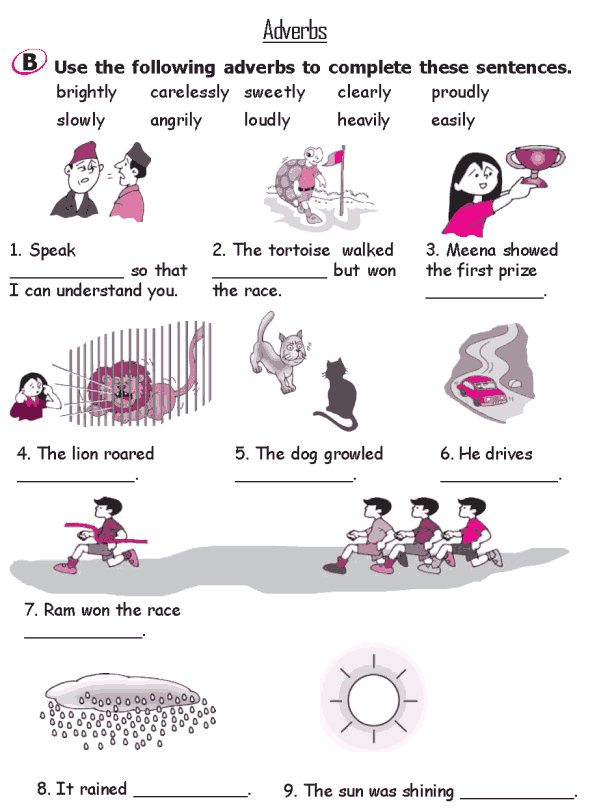 Grade 2 Grammar Lesson 17 Adverbs (3)
