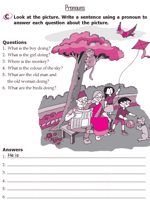 Grade 2 Grammar Lesson 8 Pronouns (3)
