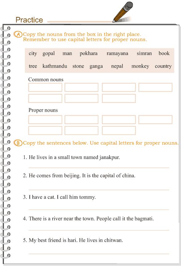 Grade 3 Grammar Lesson 1 Nouns - common and proper (2)