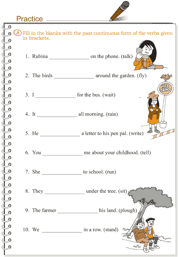 Grade 3 Grammar Lesson 10 Verbs - the past continuous tense (3)