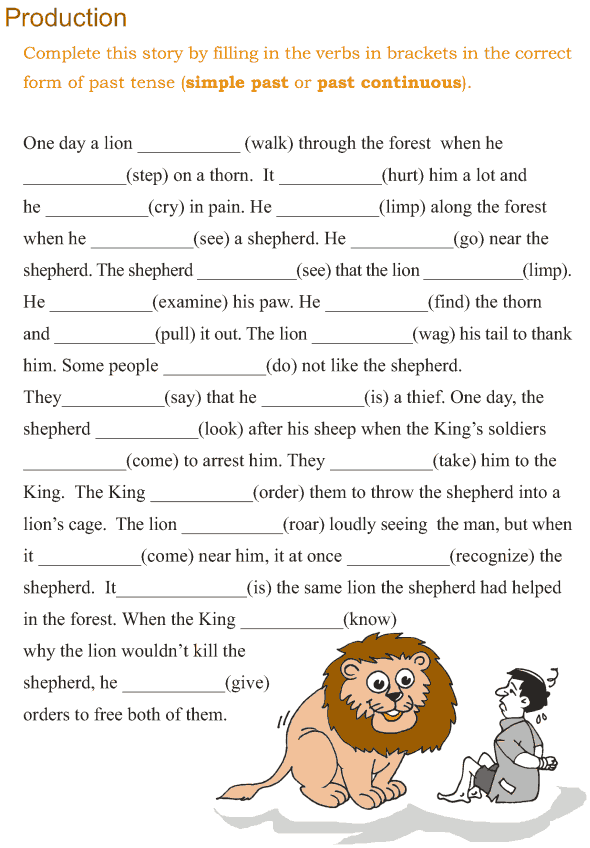 Grade 3 Grammar Lesson 10 Verbs - the past continuous tense (5)