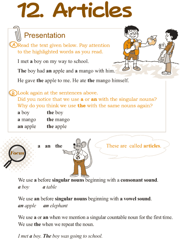 english teaching material for articles This is an this integrated skills lesson, aimed at young learners with an english level of a2 and above to help them learn about world book activities 15 april, 2015.