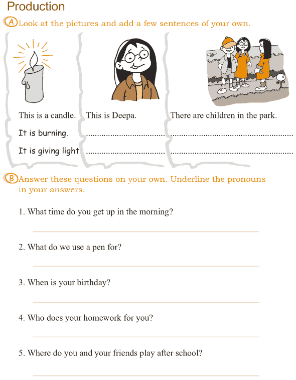 Grade 3 Grammar Lesson 14 Pronouns (5)