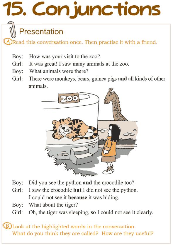 Grade 3 Grammar Lesson 15 Conjunctions (1)