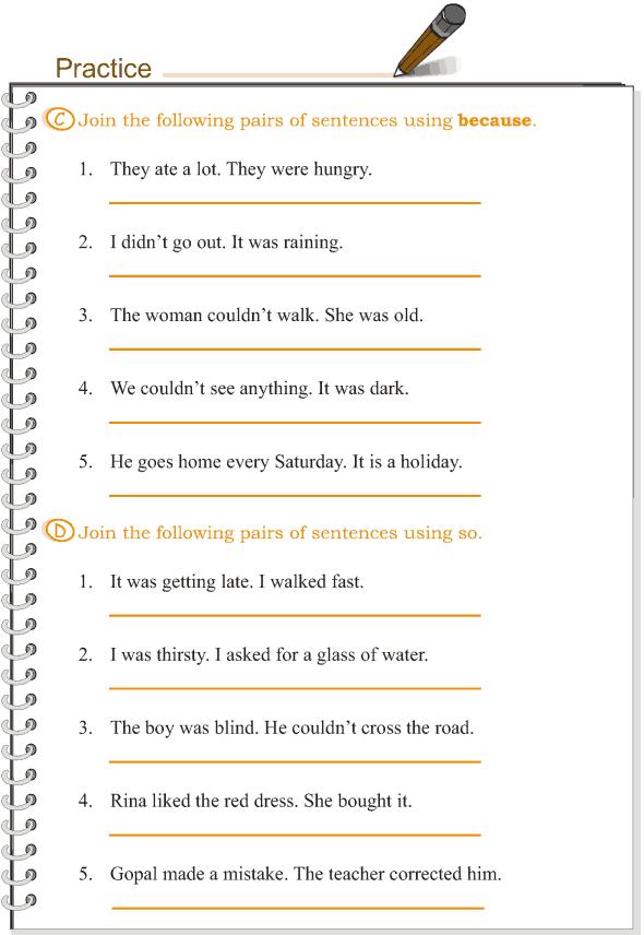 Grade 3 Grammar Lesson 15 Conjunctions (4)