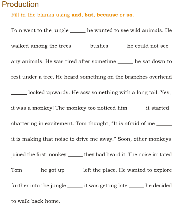 Grade 3 Grammar Lesson 15 Conjunctions (5)