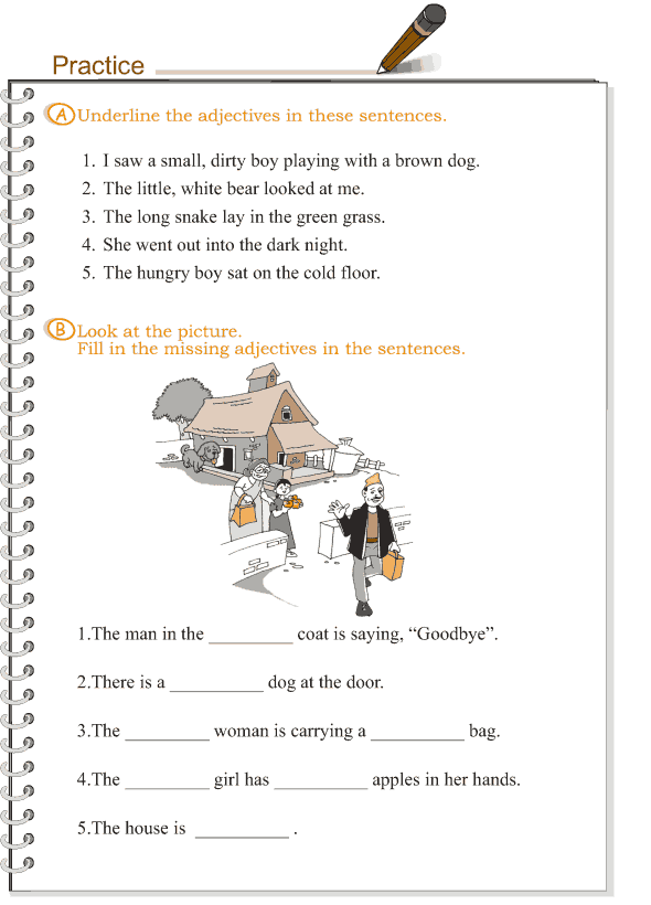 Grade 3 Grammar Lesson 4 Adjectives (2)