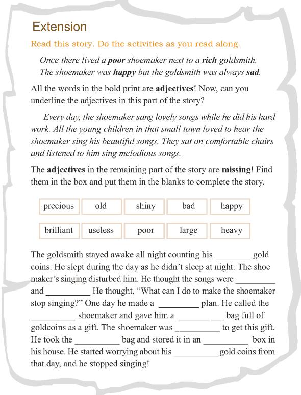 Grade 3 Grammar Lesson 4 Adjectives (4)