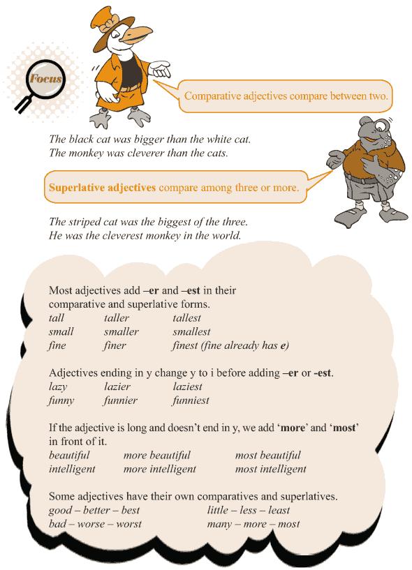 Grade 3 Grammar Lesson 5 Adjectives - comparison (2)