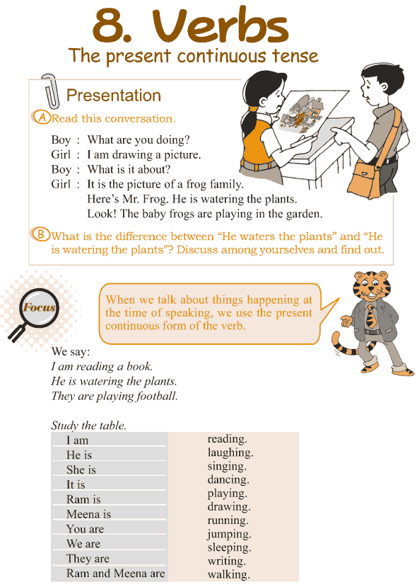 Good grammar grade 3 grammar lesson 8 verbs the present grade 3 grammar lesson 8 verbs the present continuous tense 1 ibookread Download