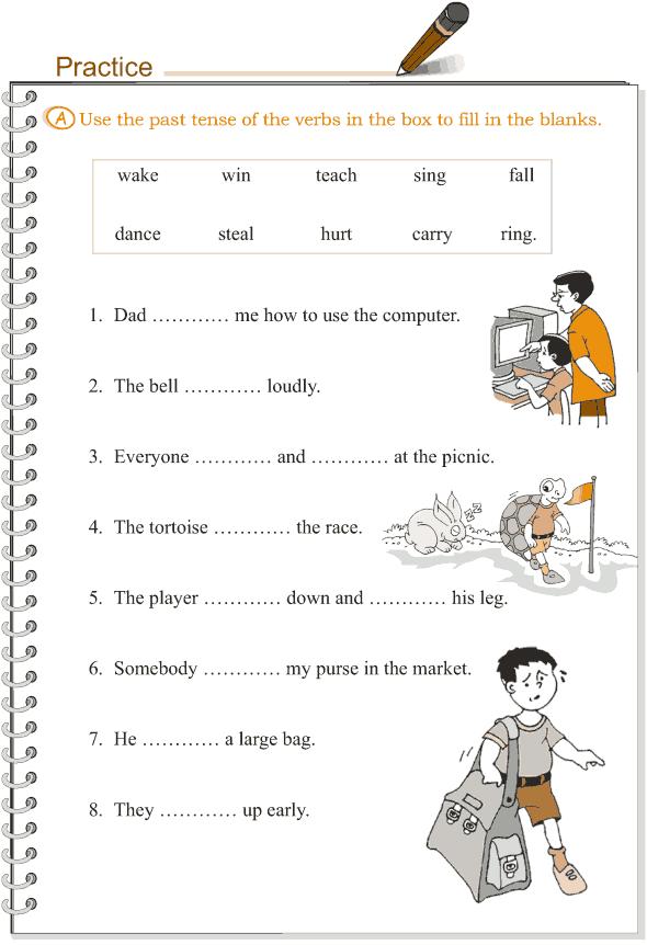 Grade 3 Grammar Lesson 9 Verbs - the simple past tense (2)