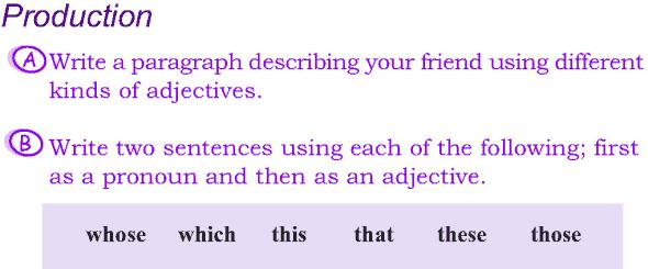 Grade 4 Grammar Lesson 10 Kinds of adjectives (6)