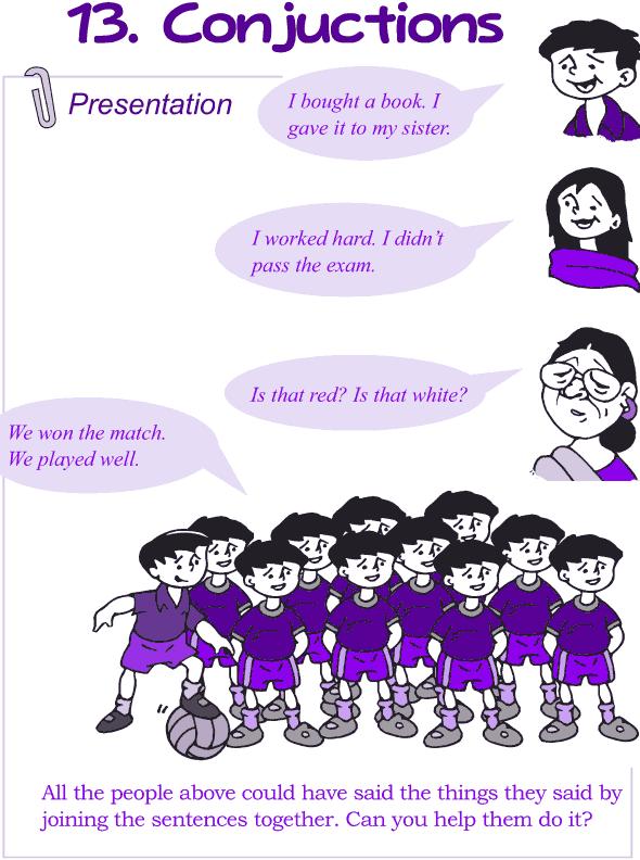 Grade 4 Grammar Lesson 13 Conjunctions (1)