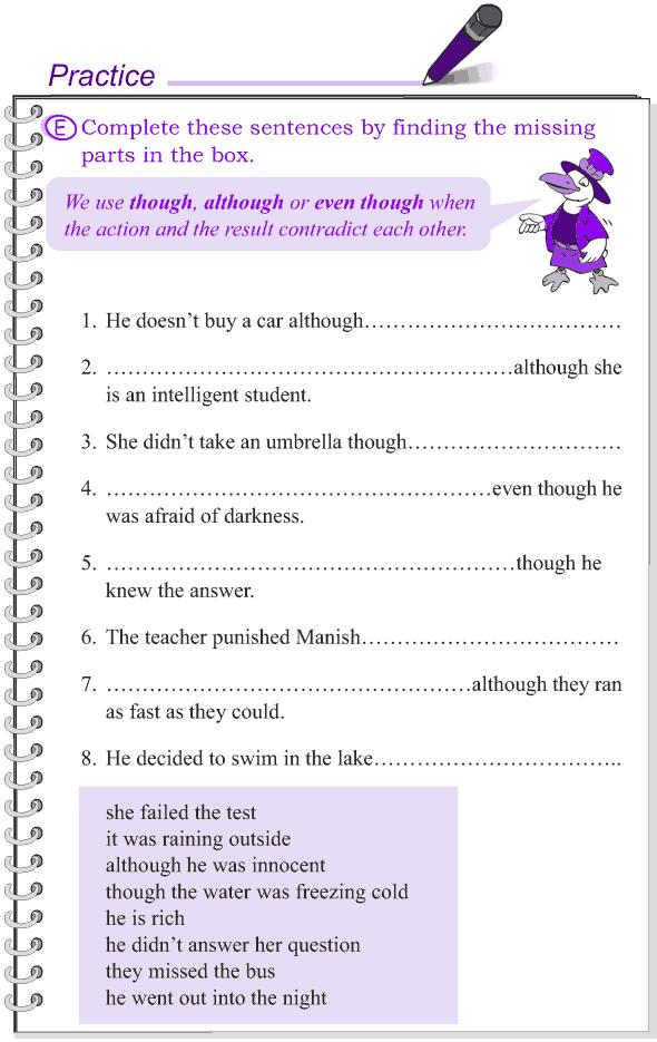 Grade 4 Grammar Lesson 13 Conjunctions (5)