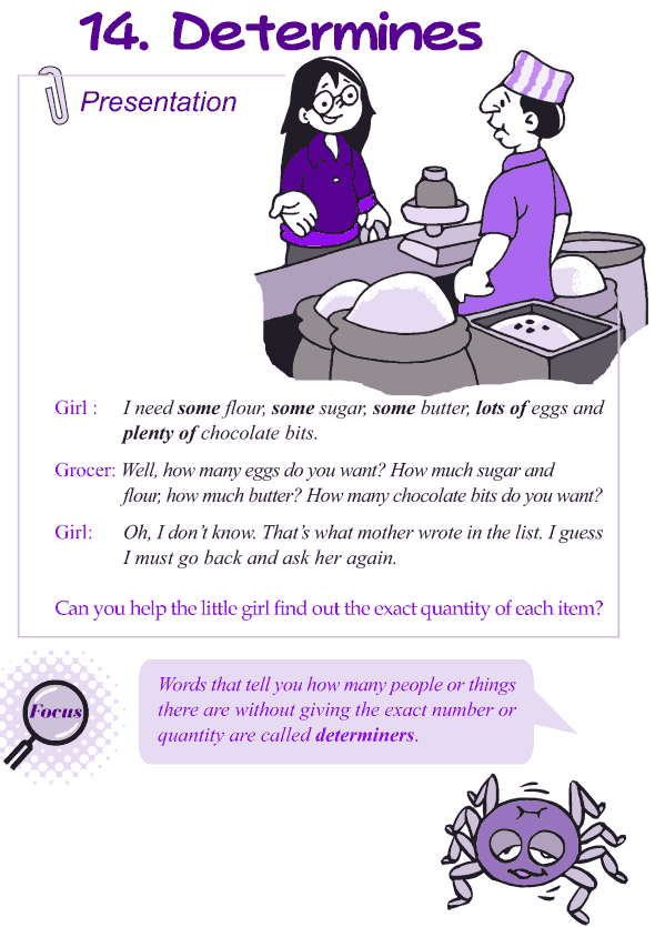 Grade 4 Grammar Lesson 14 Determiners (1)