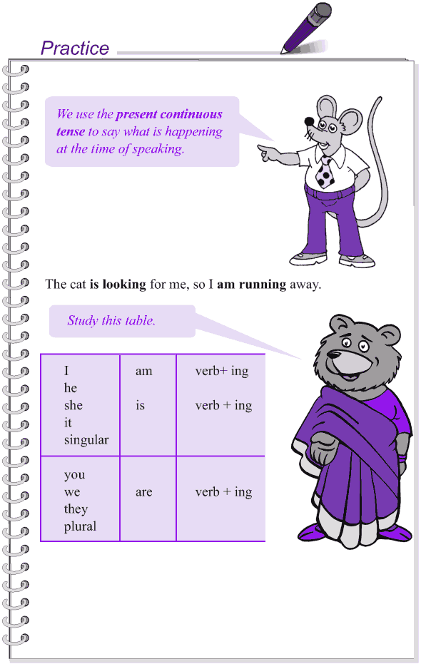 Grade 4 Grammar Lesson 18 The present tense (4)