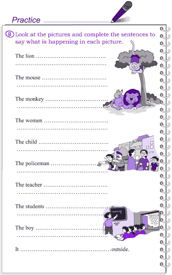 Grade 4 Grammar Lesson 18 The present tense (5)